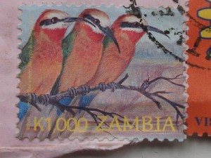 Zambian postage stamp from Kitwe 2