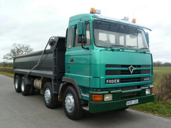 1998 FODEN S108 4405 8 X 4 Steel Body Tipper