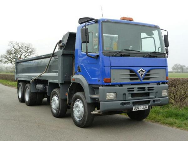 Foden Alpha 3000 8 X 4 Steel Body Tipper