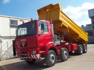 Foden 3000 8x4 Tipper for sale