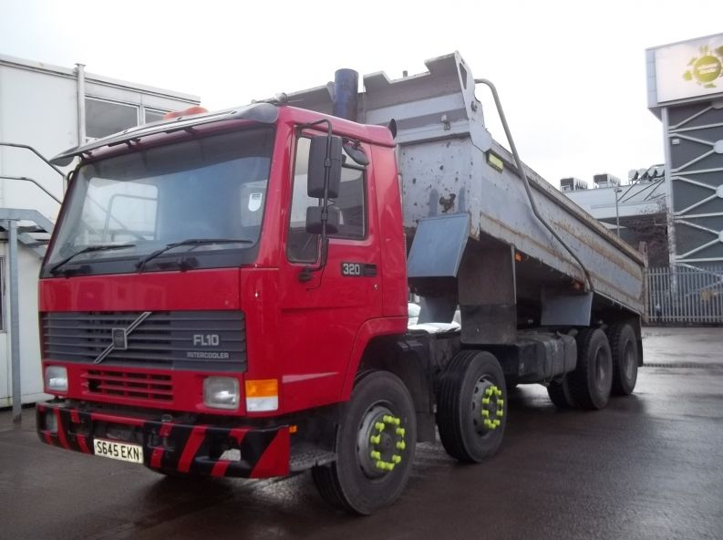 Volvo FL10 8x4 Tipper for sale
