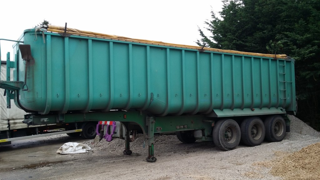 Tipping Trailer- Alloy