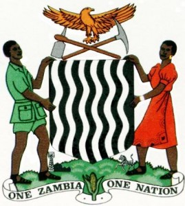 Zambian court of arms