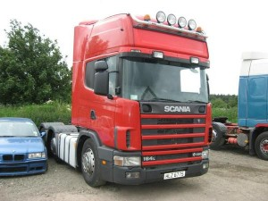 Scania 6x4 tractor unit