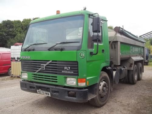 Volvo FL7 6x4 Tipper Truck 1