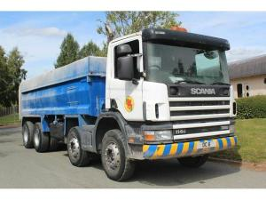 1999 Scania 114 Steel body 8x4 Tipper for sale