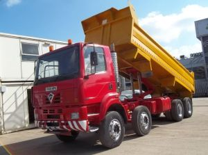 2001 FODEN 3000 8x4 Steel body TIPPER for sale