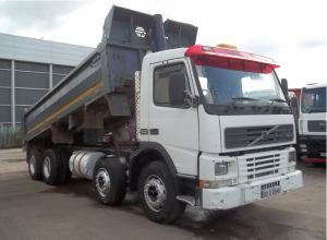 2001 Volvo FM12 8x4 Steel Tipper for sale