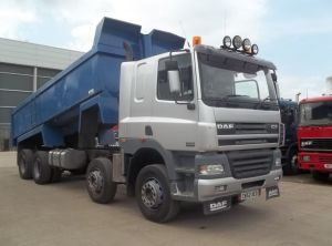 2002 DAF 85 410 8x4 Steel body TIPPER for sale