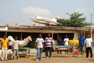 Aeroplanes as coffins in Ghana
