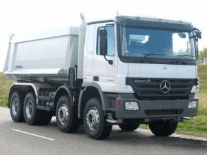 Benz Actros 8x4 Tipper Truck