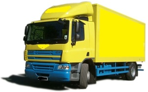 DAF box truck for sale
