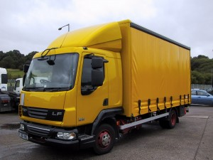 MAN LE160 7.5 tonne Curtainsider 300x225 SALES