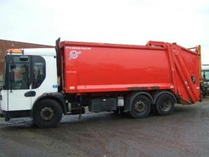 Refuse dump truck for sale