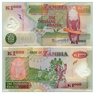 1 000  Kwacha note