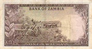1 Kwacha-back