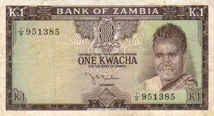 1 Kwacha note