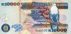 10 000 Kwacha note