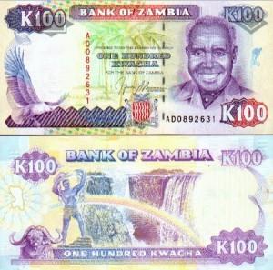 100 Kwacha note