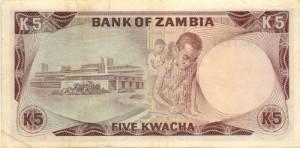 5 Kwacha note