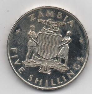 5 Shillings 1965