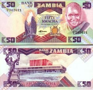 50 Kwacha note