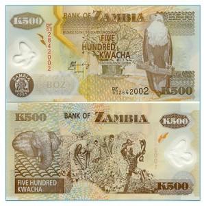 500 Kwacha note