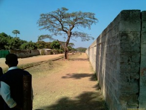 Chamboli Basic School wall fence_kitweonline