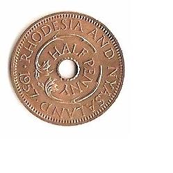 Half penny - b