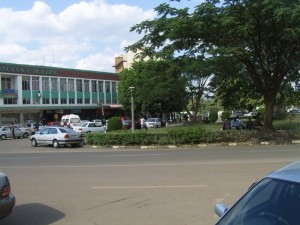Kitwe City Square-North East view-KitweOnLine