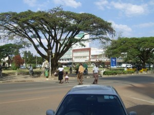 Kitwe City Square- East view-KitweOnLine
