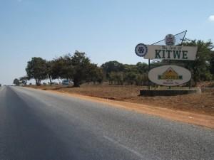 Kamfinsa - Welcome To Kitwe Sign_kitweonline