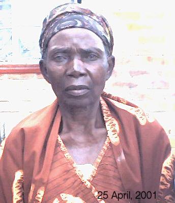 Mrs Nelly Sendama