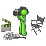 design mascot camera man