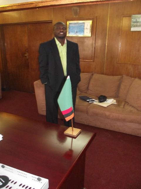 Chileshe Bweupe - mayor of kitwe 2