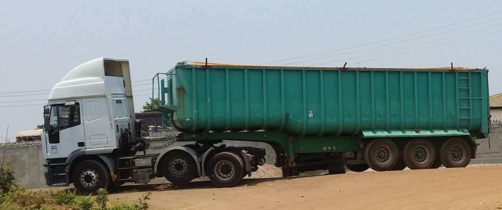 Tipping Trailer For Hire
