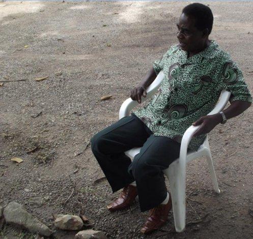 Icilanga Mulilo ceremony - The Shibukombe - Mr Dyson Chalwe