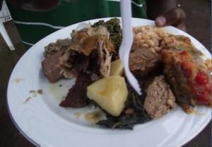 Icilanga Mulilo ceremony - Meat dish - kitweonline