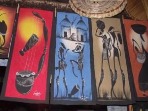 Paintings 5 - Chisokone market - Kitwe
