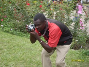 Kaunda Square camera man