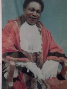 SG Chishimba - Mayor of Kitwe 1998-1999 - kitweonline