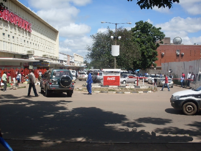 Outside Shoprite Kitwe Street Crime in Kitwe