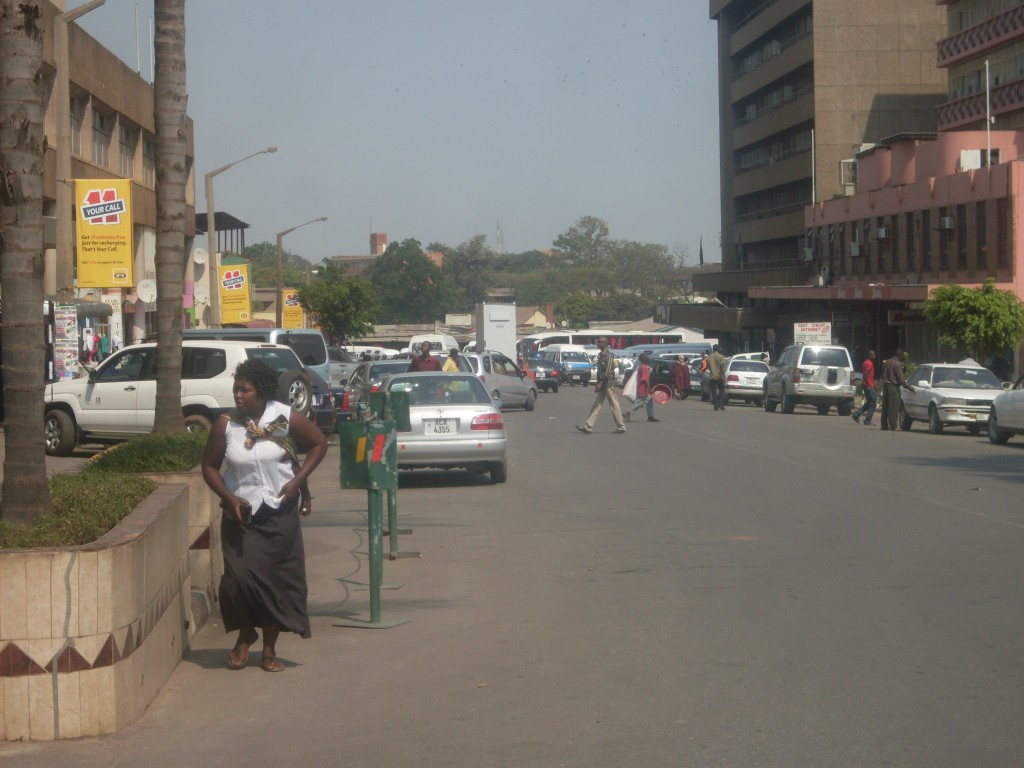 Lack of Parking Space in Kitwe