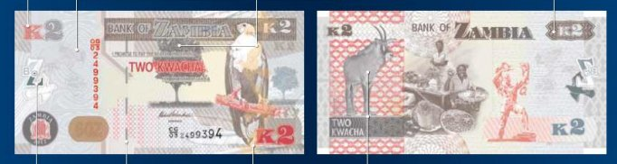 K2 - Zambian Kwacha