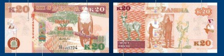 K20 - Zambian Kwacha
