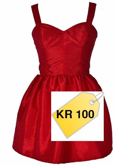 dress with price tag - rebased kwacha