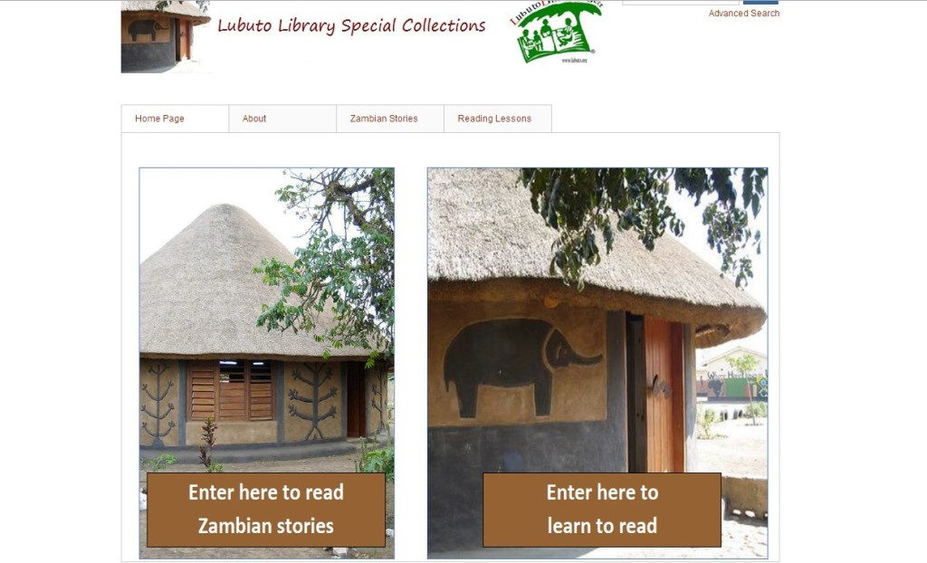 Lubuto Library Special Collections