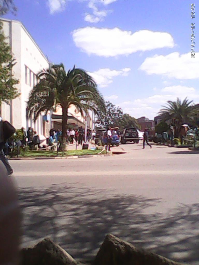 Kitwe town center