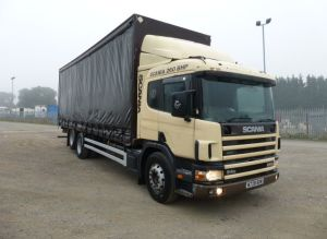 Scania P94 260 6x2 Curtainsider_1 for sale