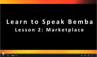 Learn to Speak Bemba: At the Market Place - Video